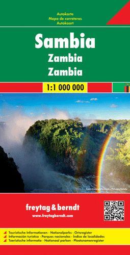 Zambia autótérkép - f&b AK 196