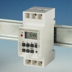 Időkapcsoló, digitális DIN sínre (Düwi 05374)