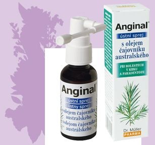 Dr. Müller teafaolajos Anginal Szájspray 30 ml