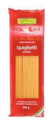 Rapunzel Bio durum fehér tészták, spagetti tojás nélkül 500 gr (piros zacskós) (503500)