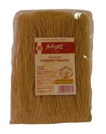 Naturgold Ökológiai tönköly tészta, cérnametélt, fehér 250 g