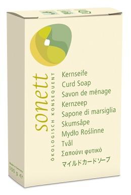 Sonett öko natúrszappan (növényi színszappan) (teljesen mentes minden illatanyagtól) 100gr