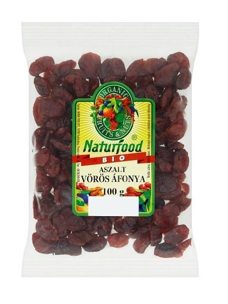 Naturfood Bio aszalt vörös áfonya 100 g