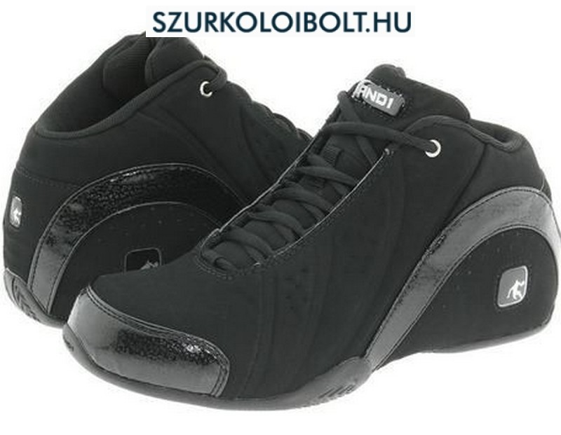 And1 cipő - Rocket Mid Black Nubuck - kosarascipő (fekete) basketball shoes - kosaras AND1 cipő