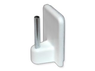 Öntapadó vitrázskampó acélszöggel