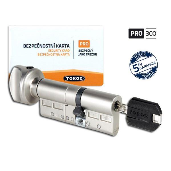 Tokoz Pro 300 gombos zárbetét 30x55