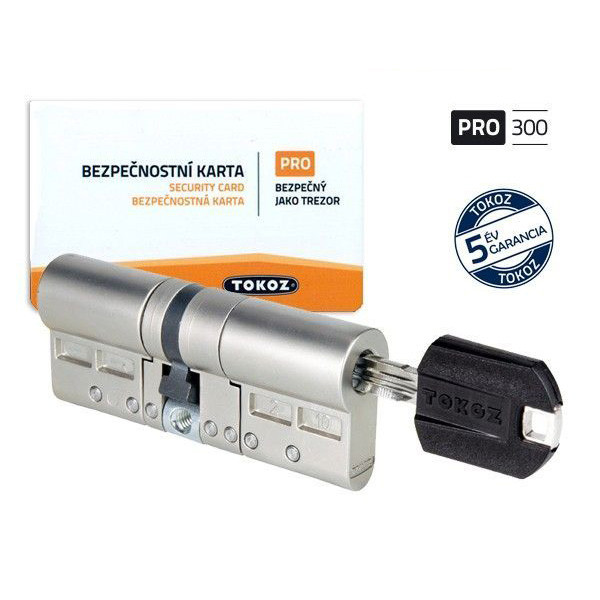 Tokoz Pro 300 biztonsági zárbetét 30x55