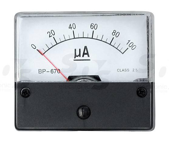 100 mikroA DC