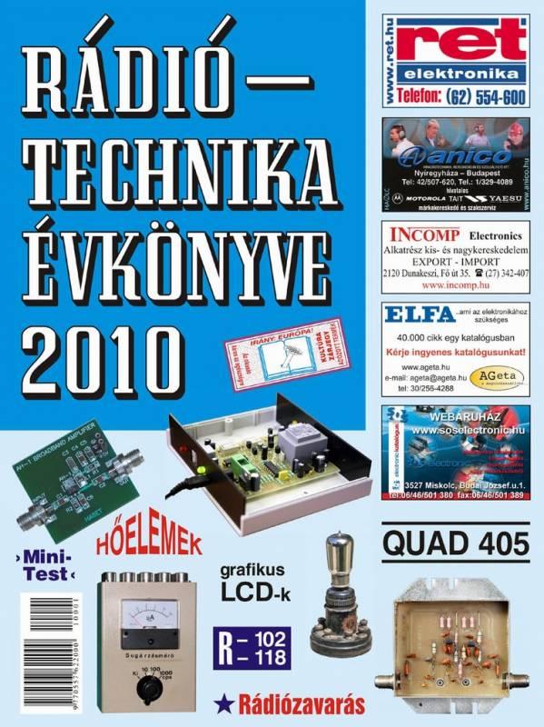 A RÁDIÓTECHNIKA ÉVKÖNYVE 2010