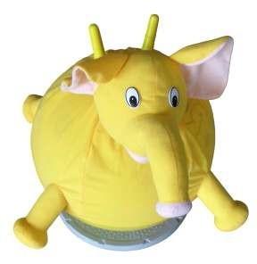 Elefántos skippy ball ugrálólabda textilhuzattal GS-045C